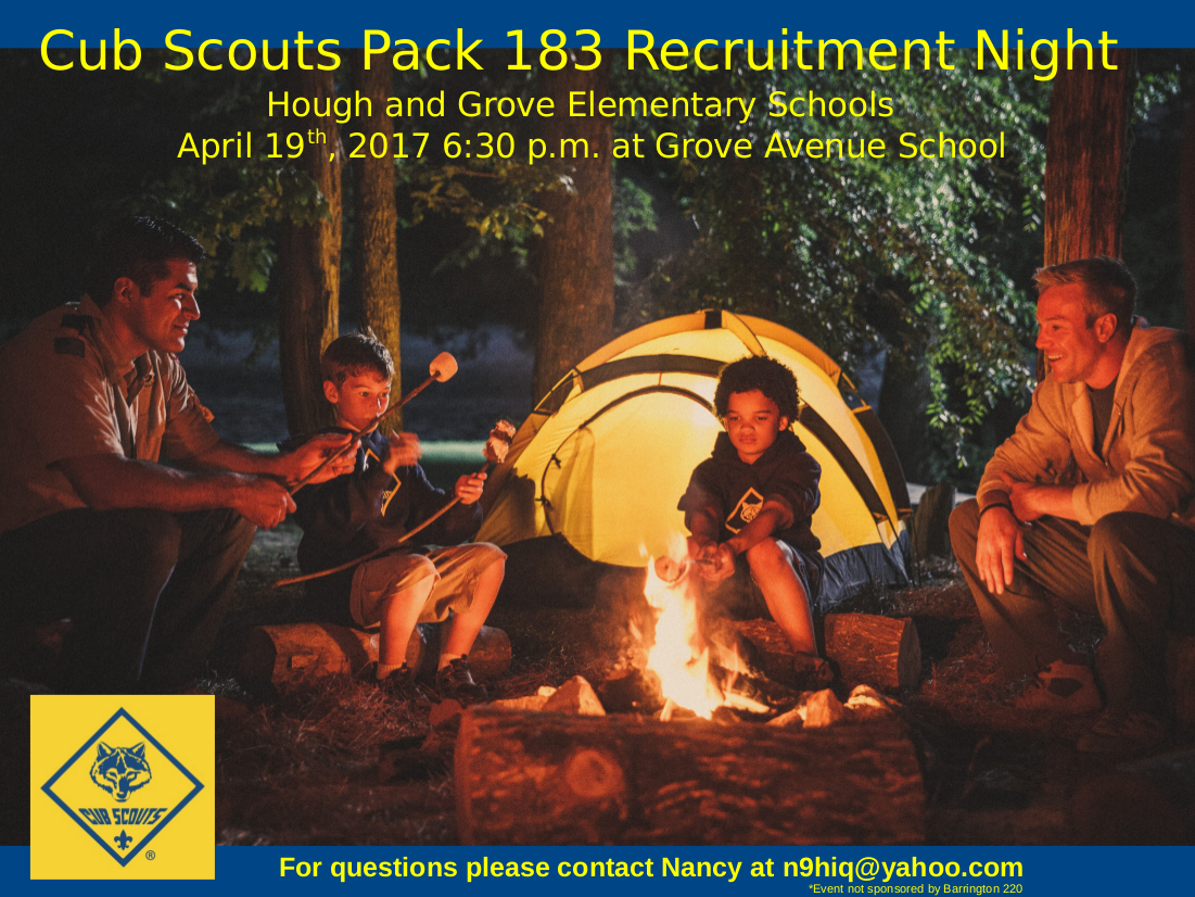 Pack 183 Spring Recruitment